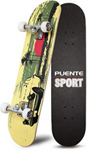 Puente 31 Inches Complete Skateboard
