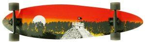 Planche à roulettes classique Longboard Quest 2012 (40 pouces)
