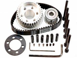 Vanpro DIY Electric Skateboard 8352 9052 9752 PU Wheel Pulleys Kit