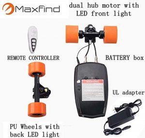 MaxFind Dual Motor Drive Kitfor Electric Skateboard Longboard